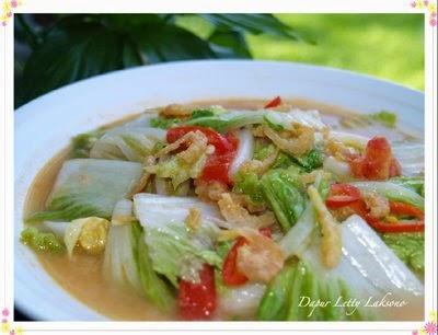 Resep Masakan Sayur Sawi Putih