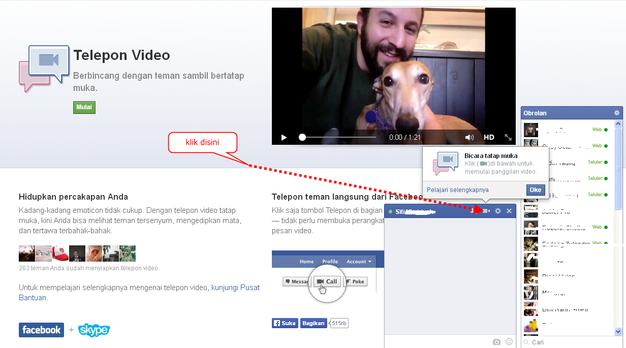 Download Video Call Facebook dan Cara Instal