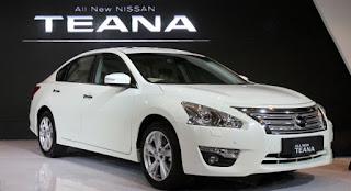 Daftar Harga Mobil Nissan NEW TEANA 2015