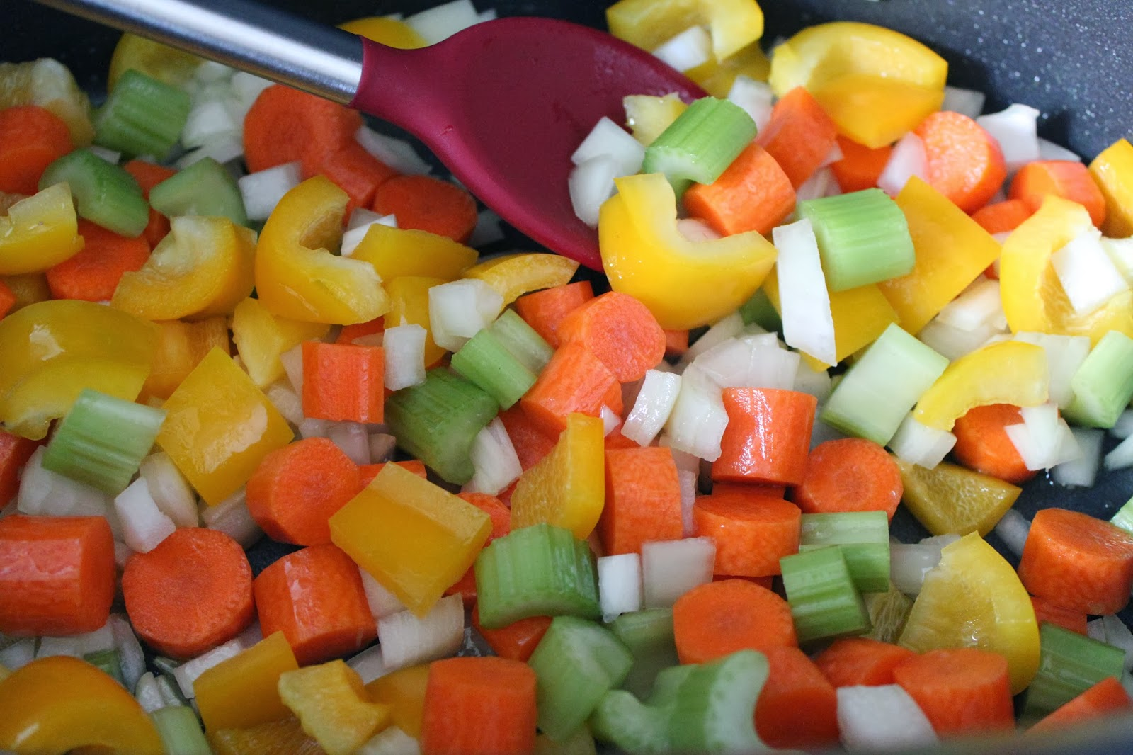 Vegetables for hearty minestrone soup