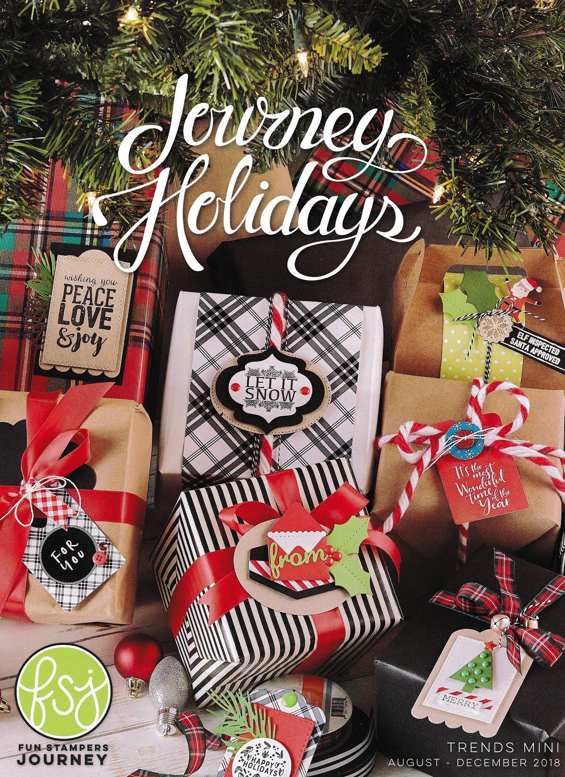Journey Holiday Mini Catalog, 8/1 - 12/31, 2018