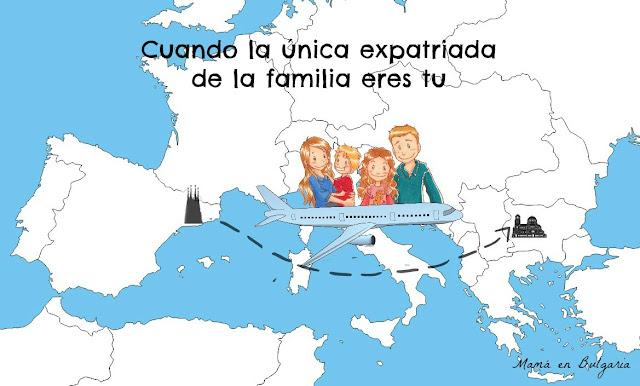 ser la única expatriada de la familia, Sofía, Bulgaria, expatrio