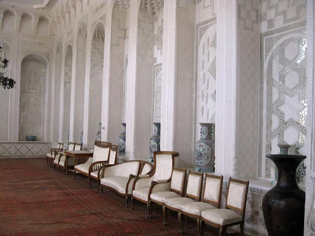 Uzbekistán, Bukhara - palacio de verano