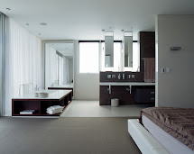 Open Bathroom Bedroom Design