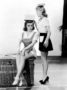 "Judy Garland and Lana Turner, ""Ziegfeld Girl"" (1941)"