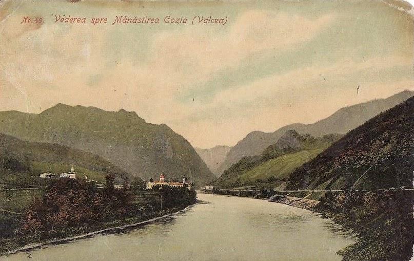 Vedere spre Manastirea Cozia
