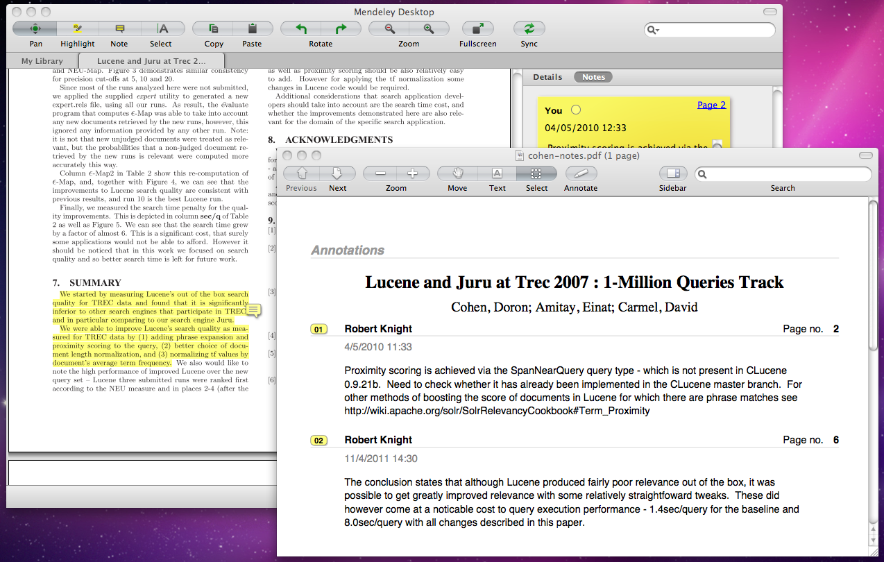 For All These Reasons, I Think Zotero Is A Much More Flexible And Robust  Program