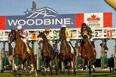 Kanada Woodbine at yarışları erken bahis oranları