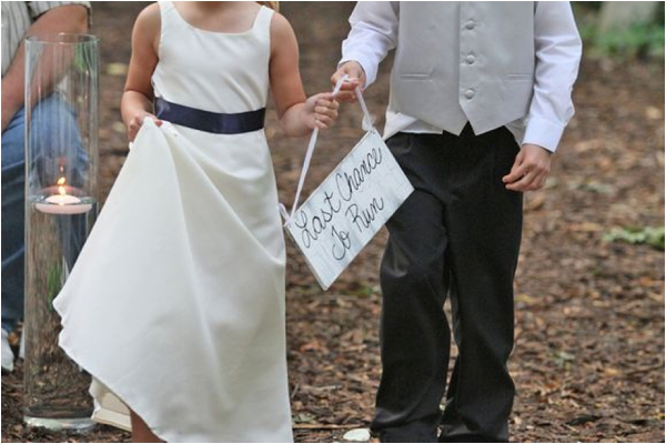 Including you children in your wedding via Kiss My Tulle