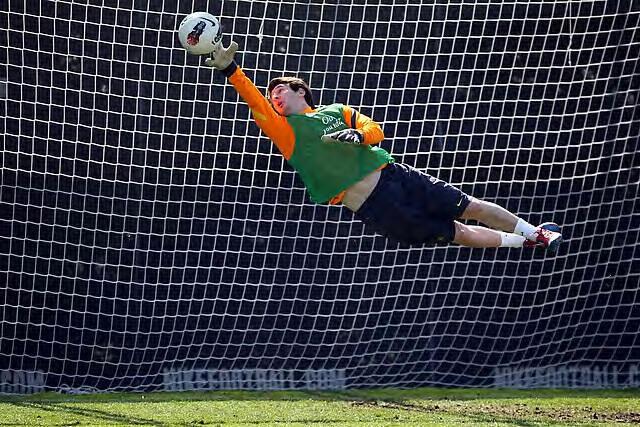 Messi portero de fútbol
