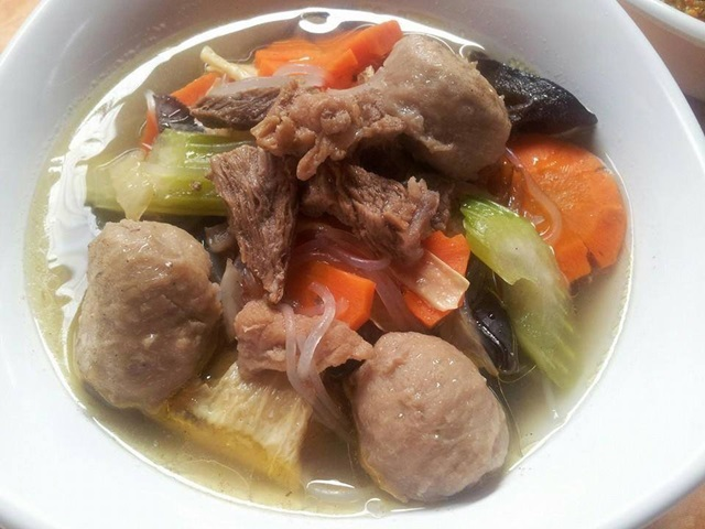 Resipi Sup Sayur Meat Ball