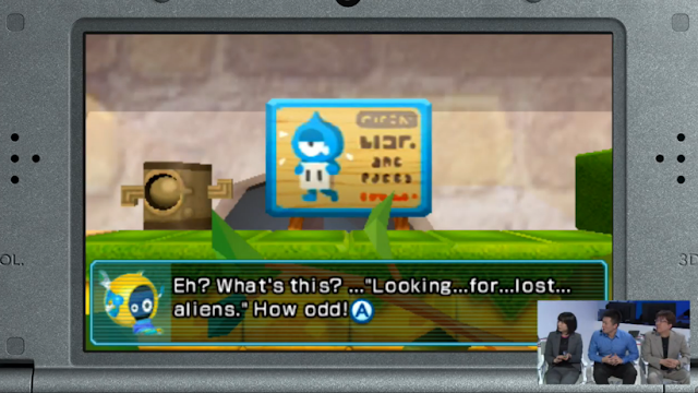 Chibi Robo Zip Lash lost alien sign