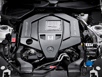 2012/2013 New Mercedes-benz AMG Engine M 152 5.5-liter litre V8 naturally aspirated