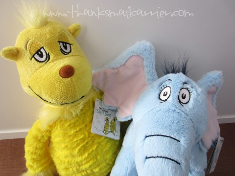 Dr. Seuss stuffed animals