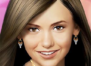 Nina Dobrev Makeup