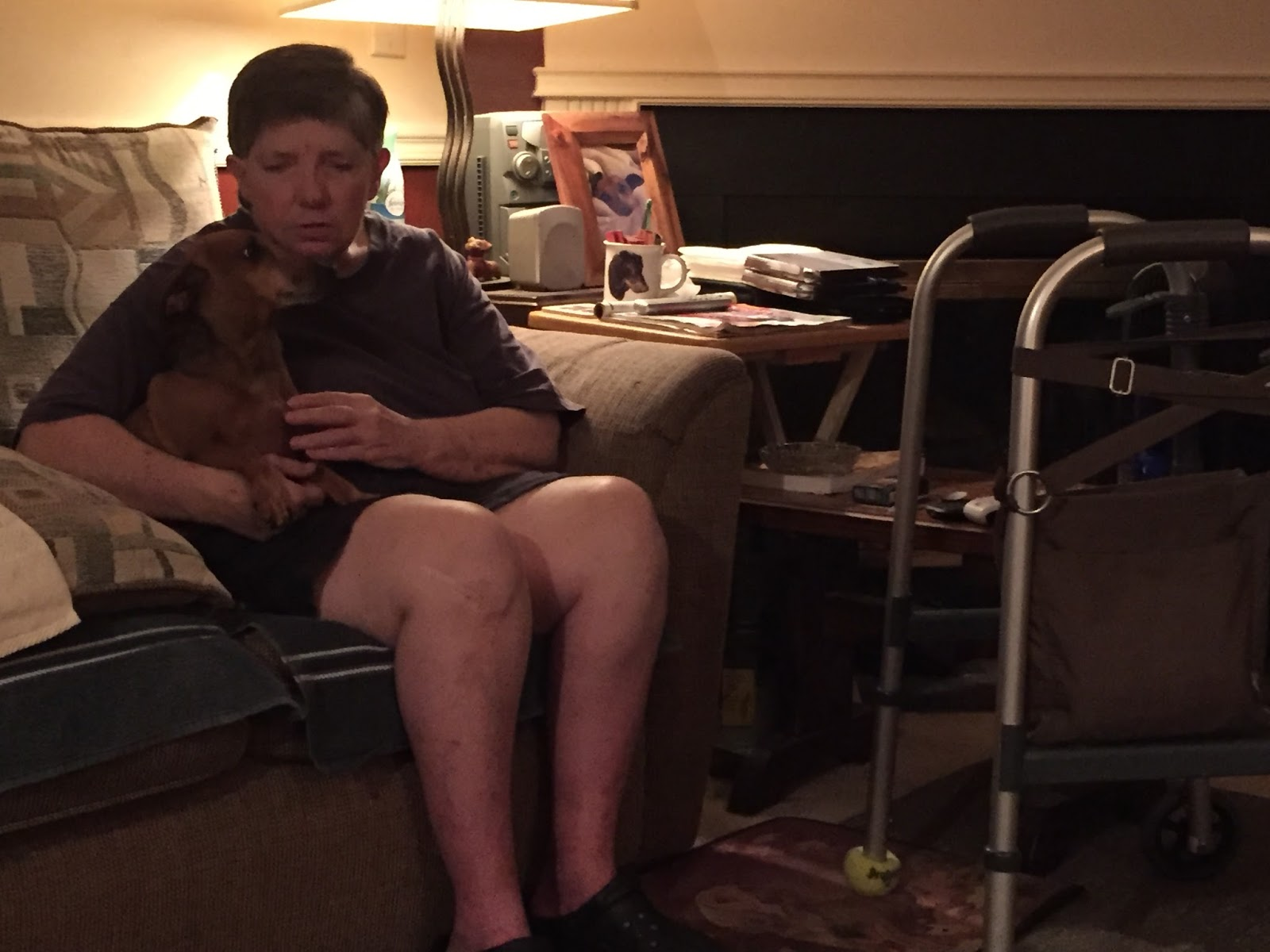 Totally Dependent: 56yearold Douglasville, Georgia Resident Lisa Allrid  Has Been Disabled For More Than 10 Years Mentally Impaired By Sarcoidosis,