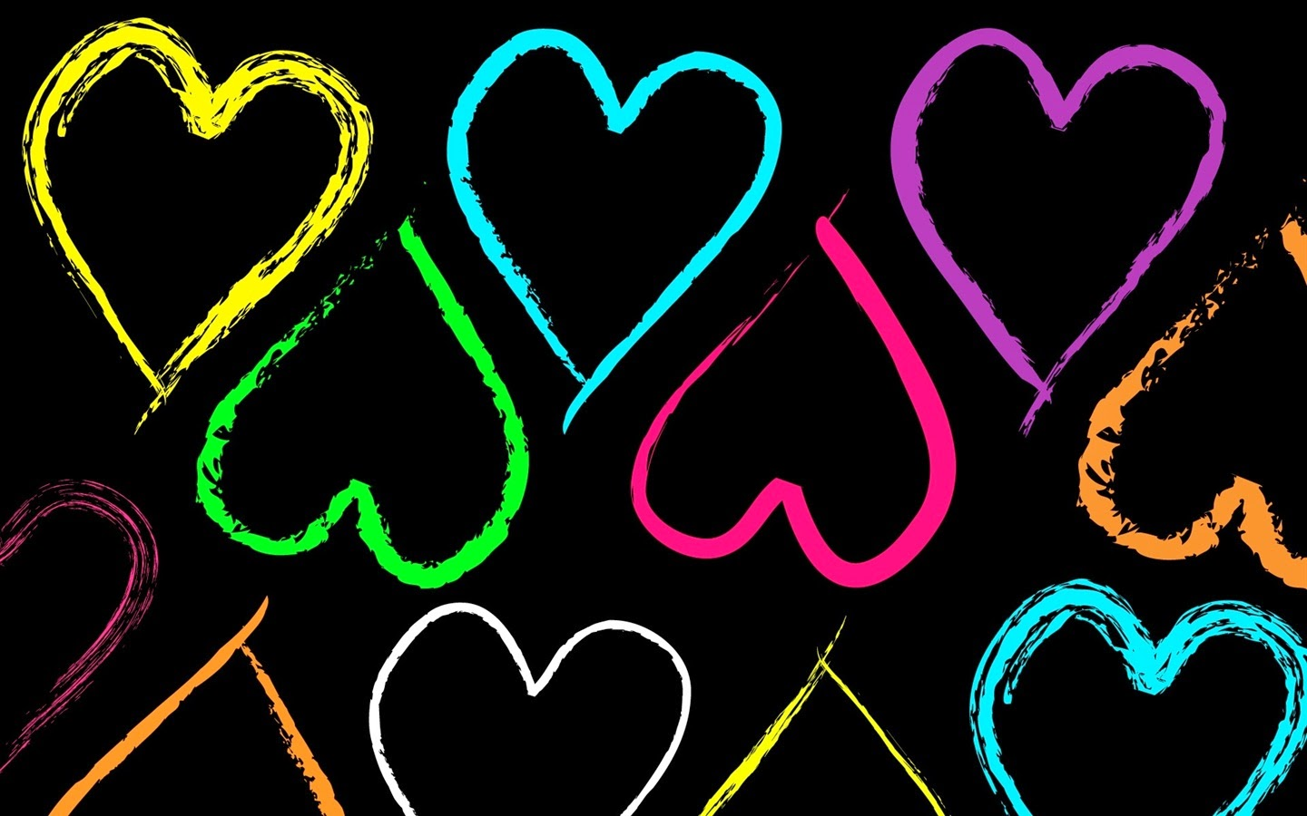 Colorful Heart Wallpapers Full HD