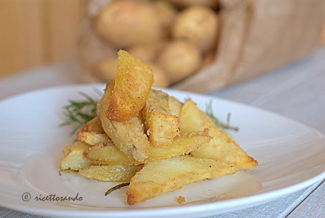 Patate al forno e sabbiose ricetta base verdura