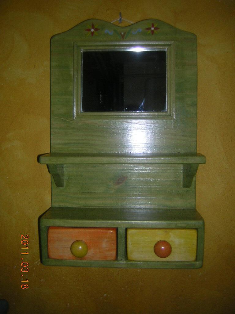 Madera estilo rustico tocador rustico ni a - Tocador madera nina ...
