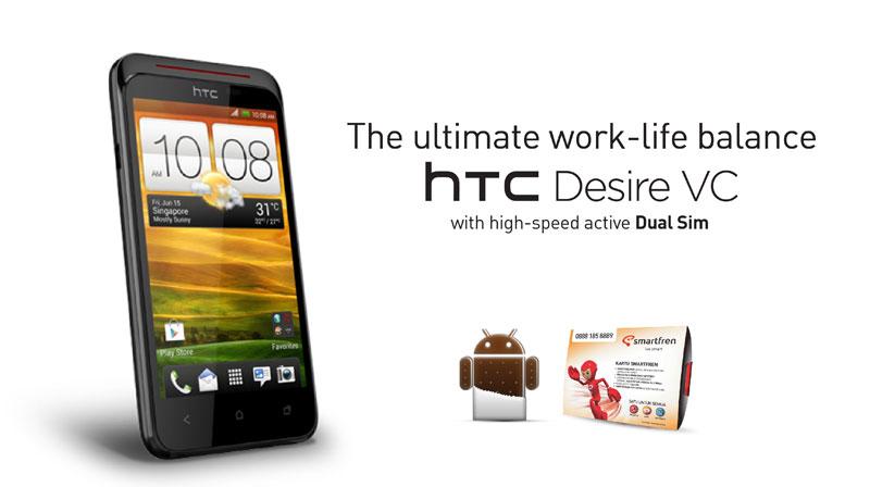 HARGA HP Smartfren HTC Desire VC Paket Bundling Terbaru
