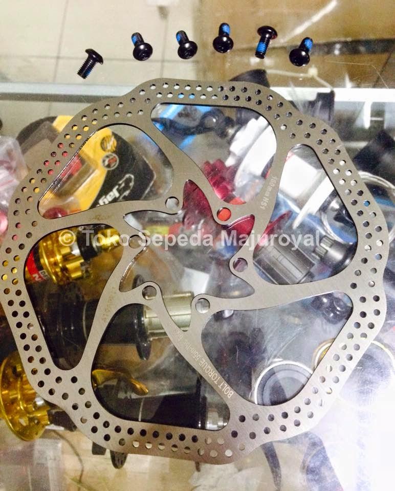"""Rotor Avid HS1 ukuran 6"""" atau 160mm"""