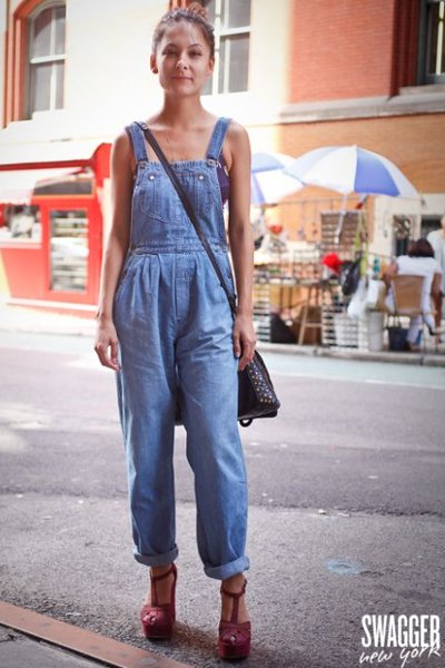 Why do girls wear Overalls?