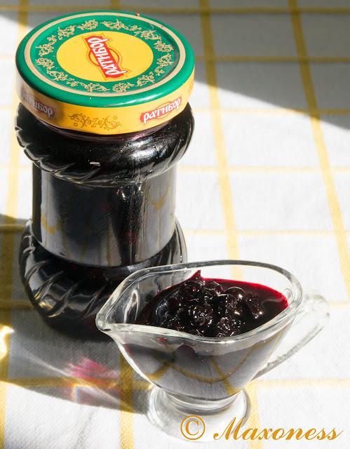 Варенье из черники с лавандой