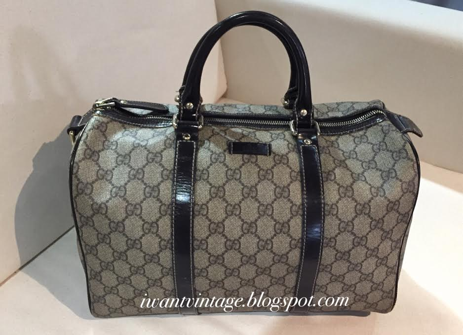 Gucci Joy Original Gg Boston Bag