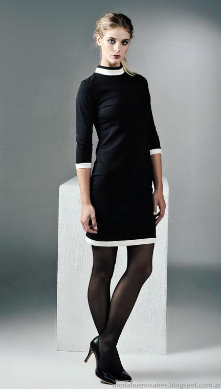 Vestidos invierno 2015 Mancini.