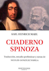 Sobre el Cuaderno Spinoza de Karl Heinrich Marx