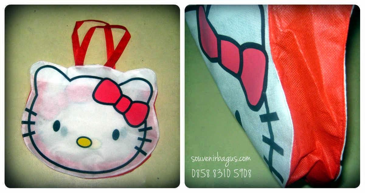 Tas Ulang Tahun Murah Hello Kitty Putih