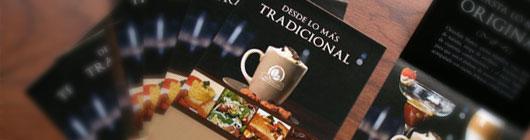 10 Food Brochure Design Samples for Inspiration
