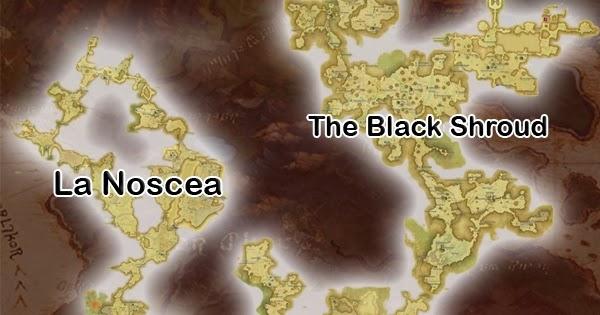 VANZHU: World Map FFXIV: A Realm Reborn