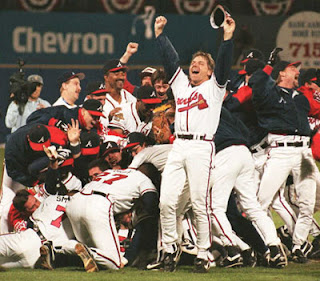 Atlanta Braves, 1995 World Series, champions, victory, baseball