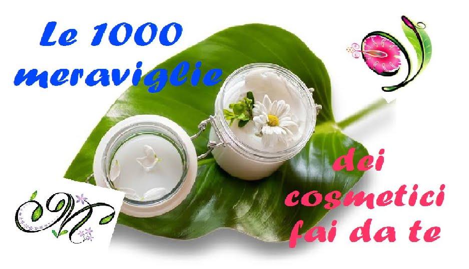 Le 1000 meraviglie dei cosmetici fai da te