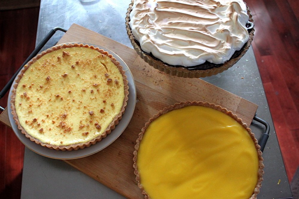 Peanut Butter Honeycomb Pie Recipe — Dishmaps