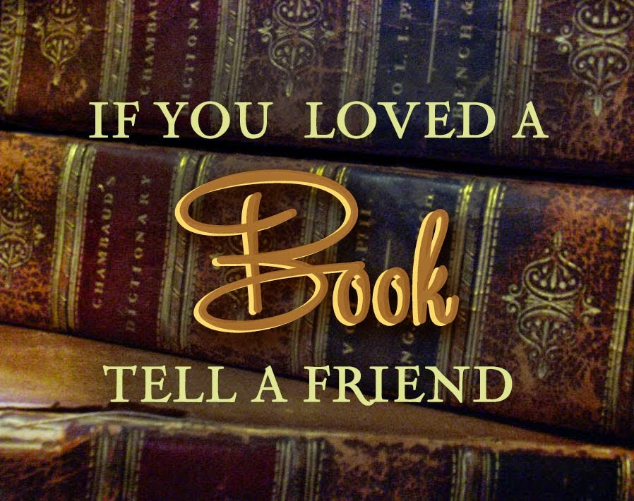 """Yay for books! If you read my memoir and loved it, please """"Tell a Friend!"""""""