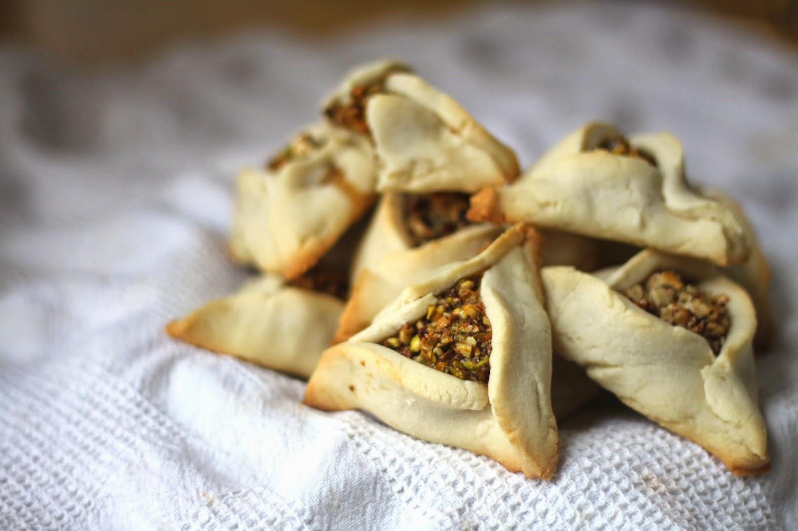 Jenessa's Dinners: Purim Baklava Hamantaschen