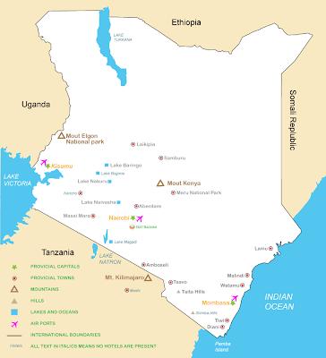 (Kenya) - Malindi Map