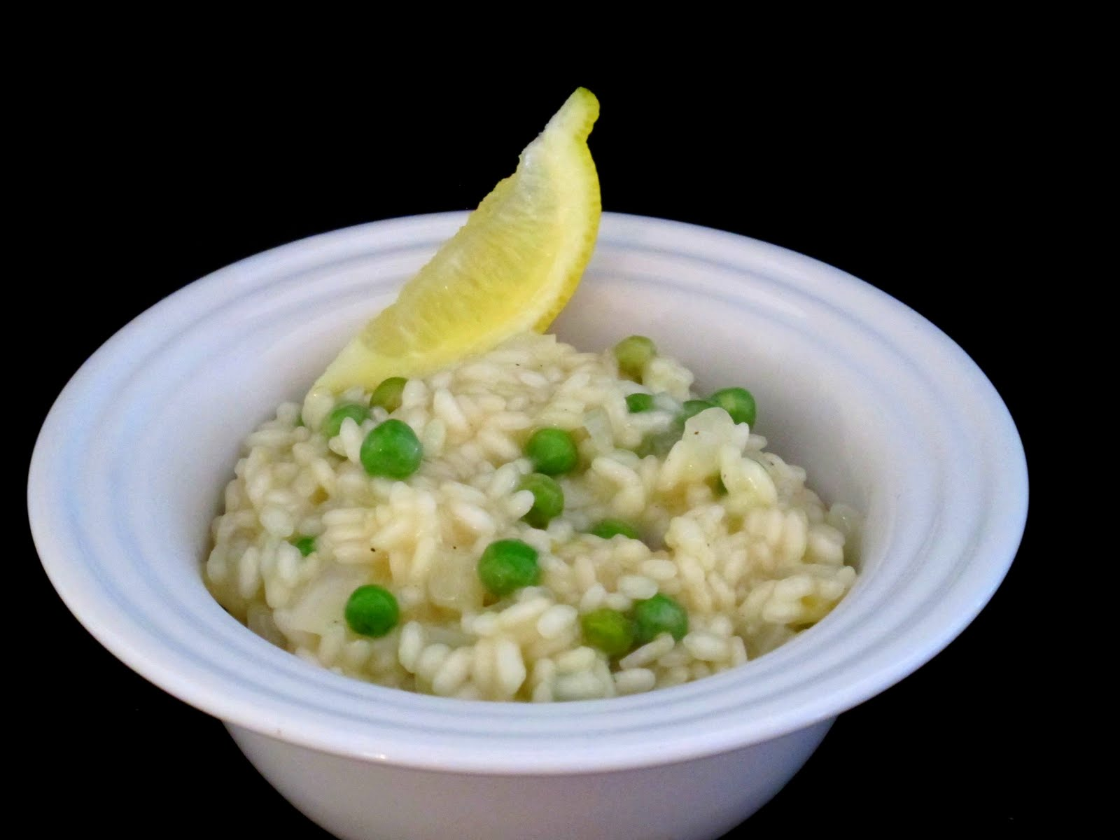 A Toast to Taste: Lemon Risotto with Peas