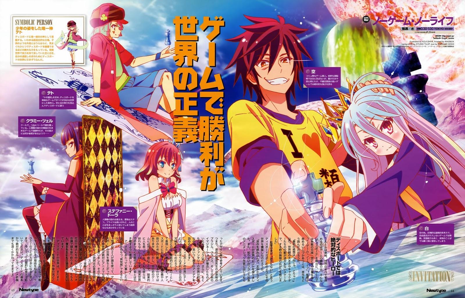 Dan Pertama Kali Dengar Judul Anime Ini Saya Yang Bahkan Bukan Seorang Gamers Sejati XD Langsung Tertarik Nih Dari Judulnya Aja Menarik Banget