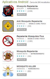 app android para espantar mosquitos, fraude