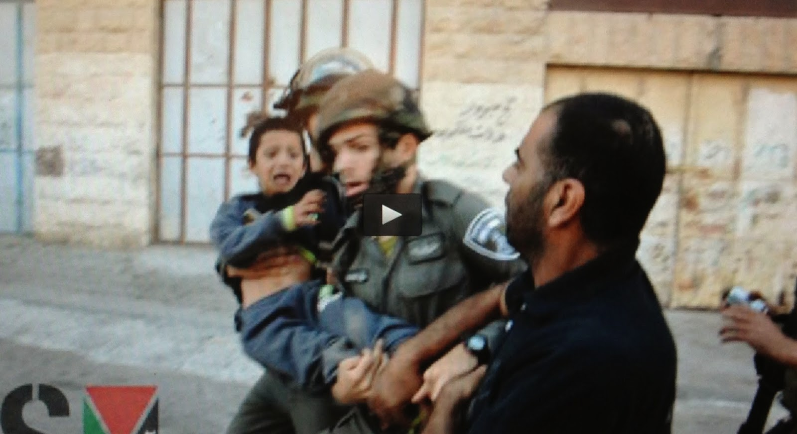 http://www.presstv.com/detail/2014/09/09/378187/video-israelis-arrest-7yearold-in-wb/