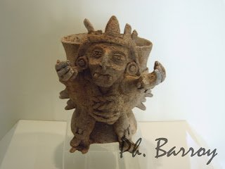 paysage du Mexique Campeche Yucatan statue Maya blog voyage photos