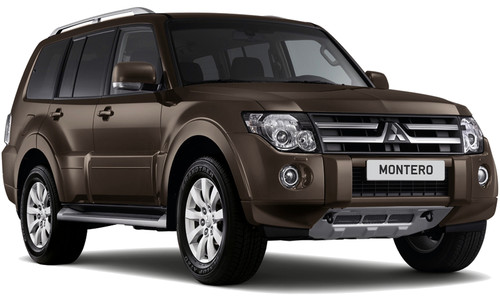 mitsubishi introduced the 2012 version mitsubishi montero suv montero