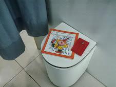 Livro deixado na loja Marisa do Carioca Shopping/RJ.