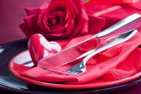cina romantica valentine's day