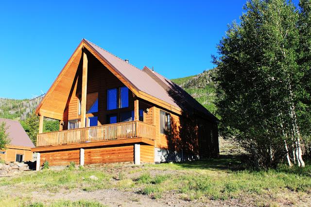 Rental cabins at fish lake utah bearberry 10 person for Fishing cabin rentals