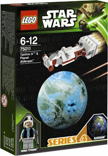 75011 Tantive IV & Planet Alderaan (Series 4)