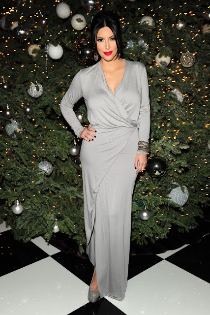 Kim Kardashian Annual Christmas Eve Party